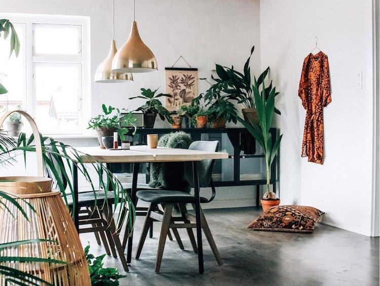 Bohemian interieur combineren