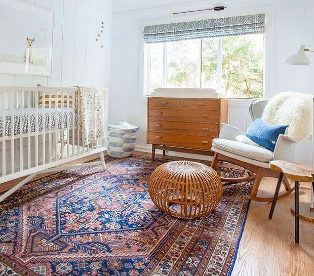 Koop een vintage vloerkleed voor je vintage interieur.